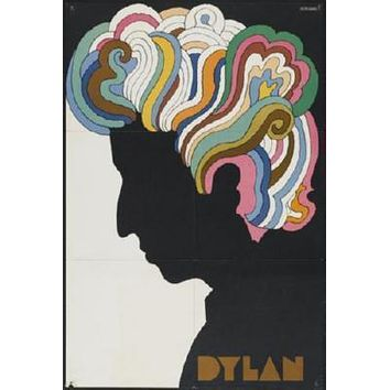 Bob Dylan Poster Psychedelic 24inx36in