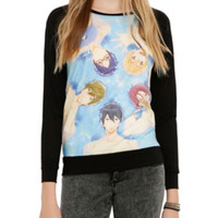 Free! Floating Group Girls Pullover Top