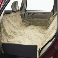 Bowsers Hammock Car Seat Cover - Paisley/Taupe
