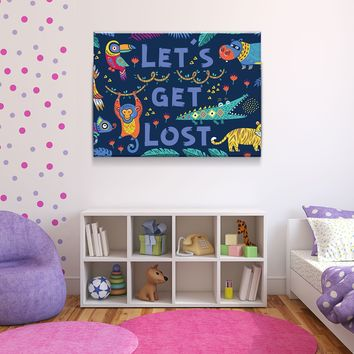Getting Lost Canvas Set