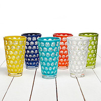 Summer Oasis Zoie Dot Tumblers, Set of 6 | Dillards.com