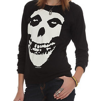Misfits Fiend Skull Girls Pullover Top