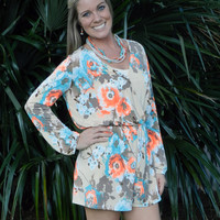 Strikingly Bold Romper