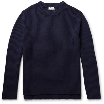 Acne Studios - Nicholas Ribbed Wool Sweater