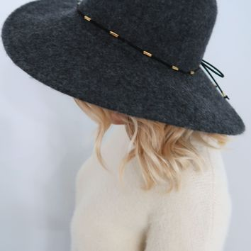 Get With It Hat: Charcoal