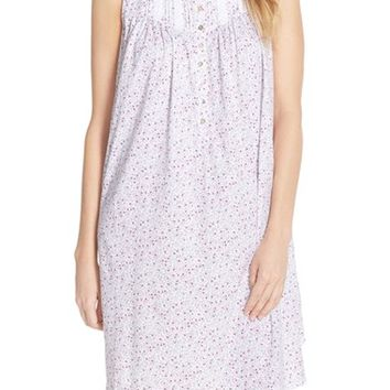 Women's Eileen West 'Meadow' Cotton Short Nightgown,