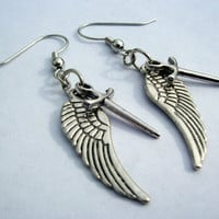 Supernatural Castiel earrings