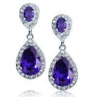 Bling Jewelry Tearless Earrings