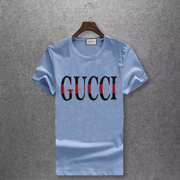 Trendsetter GUCCI Women Man Fashion Print Sport Shirt Top Tee