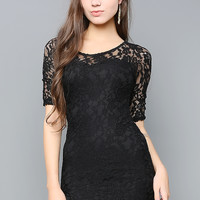 All Over Lacy Dress