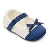 White & Blue Two-Tone Flat | something special every day