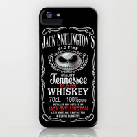 Jack Daniel's Skellington's Nightmare before Christmas Blood Whiskey iPhone Case by pointsalestore