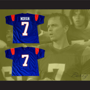 Alex Moran 7 Blue Mountain State TV Show Football Jersey New Any Size 4bce4ab68284