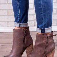 Percussion Bootie - Taupe