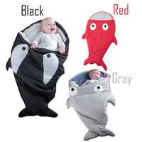 Newborn Baby Fashion Shark Outfit Sleeping Bunting Bag Christmas Clothes Multi-function Bags [9619266831]