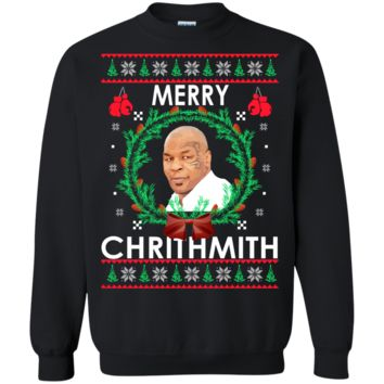 mike tyson merry chrithmith christmas sweater, T-Shirt