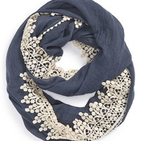 Women's Evelyn K Crochet Infinity Scarf