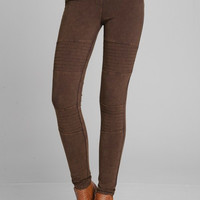 That's Our Motto Jegging - Multiple Color Options