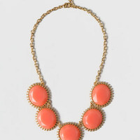 REDFISH BAY JEWELED STATEMENT NECKLACE