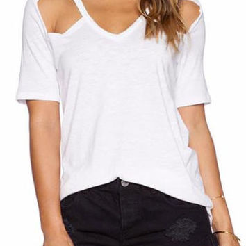 Sorelle Cut Out T-Shirt