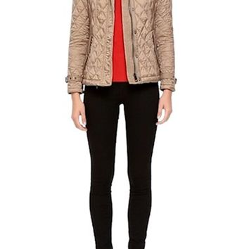Burberry Finsbridge Short Quilted Jacket | Nordstrom