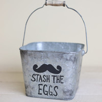 Stash The Eggs Easter Basket by Morgann Hill Designs
