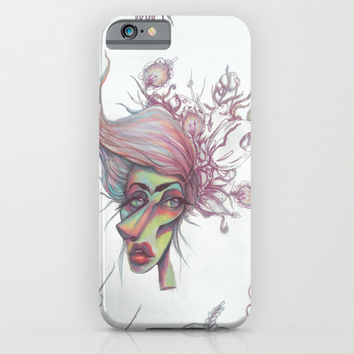 Sorting through Weeds iPhone & iPod Case by Ben Geiger
