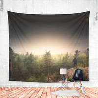 Im happily lost yet again Wall tapestry