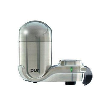 PUR Advanced Plus Faucet Water Filter - Stainless Steel Style FM-9000B