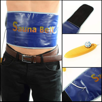 EU health care  Exercise Waist Sweat Belt Wrap Fat Cellulite Burner Fitness for Slimming