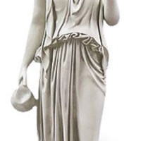 Hebe the Cupbearer Greek Goddess of Youth Garden Statue by Thorvaldsen 40H - 3421