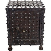 One Kings Lane - Architectural Anarchy - 1830s Delano Hobnail Safe