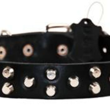 D&T Egyptian Gem Luxury Leather Collar