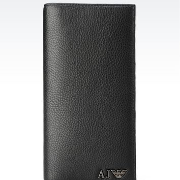Armani Jeans Men Wallet - YEN LEATHER WALLET Armani Jeans Official Online Store