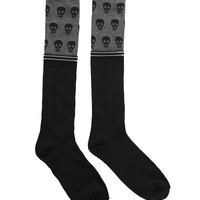 LOVEsick Skull Knee-High Socks | Hot Topic