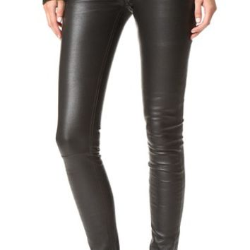 Peppa Leather Pants