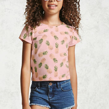 Girls Pineapple Tee (Kids)