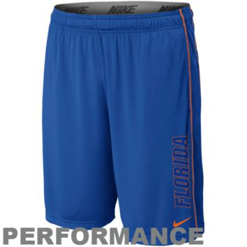 Nike Florida Gators Fly Performance Shorts - Royal Blue