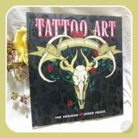 Tattoo Art Coloring Book