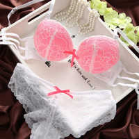 Sexy Womens Set Lace Lingerie Underwear