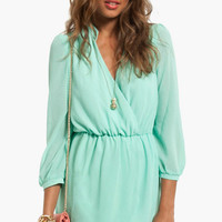 Plus One Wrap Dress $44