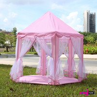 Portable Princess Castle Play Tent