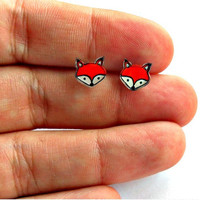 Lil' Foxes, Post Earrings