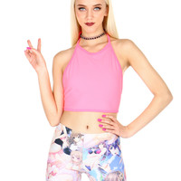 SHOCK WAVE CROP TOP