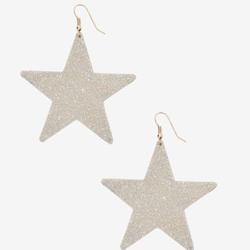You Wish Glitter Star Earrings
