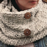Crochet Pattern for Star Stitch Infinity Scarf or Cowl - Multiple sizes - Welcome to sell finished items