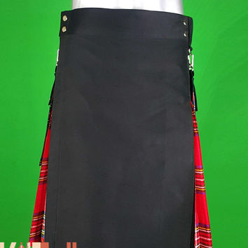 Royal Stewart Tartan Hybrid Kilt Custom Made