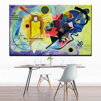 ZZ1173 Artwork Wassily Kandinsky Classic Colorful Art canvas Poster Home Decor Painting wall decor art prints for livingroom