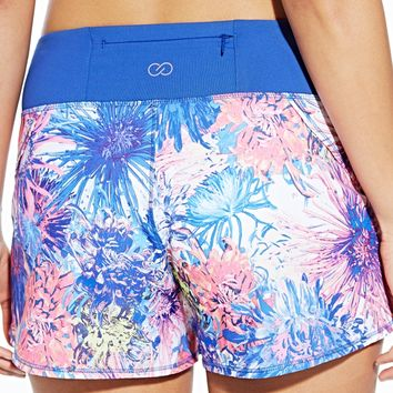CALIA by Carrie Underwood Women's Journey Printed Flutter Shorts | CALIA Studio