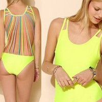 Stylish One Piece Swimsuit for beach= 4465973060